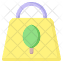 Recycrecycled Bag Ecology Icon