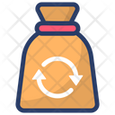 Recycling Sack Icon