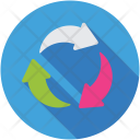 Arrow Cycle Recycling Icon
