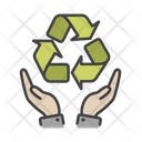 Recycling Time Time Management Recycle Time Icon