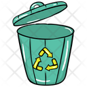 Recycle Bin Waste Bin Recycling Trash Icon