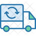 Lorry Recycling Truck Reuse Truck Icon