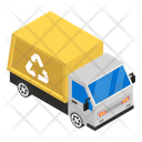 Recycling Truck Truck Delivery Cargo Icon