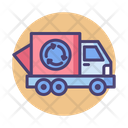 Recycling Truck Garbage Truck Trash Truck Icon