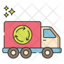 Recycling Truck Garbage Truck Icon