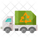 Recycling Truck Trash Truck Icon