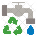 Faucet Water Ecology Icon