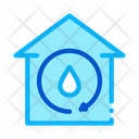 House Water Technology Icon