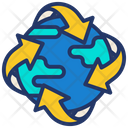 Recycling World Icon