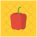 Red Bell Pepper Icon