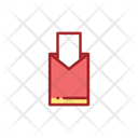 Red Bag Chinese Envelope Envelope Icon