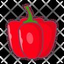 Capsicum Red Pepper Icon