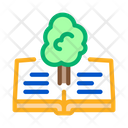 Red Book Tree Icon