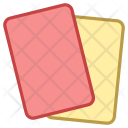 Red Card Yellow Icon