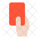 Red Card Fouls Icon