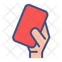 Red Card Foul Icon