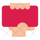 Redcard Warning Foul Icon