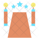 Red Carpet Grand Entrance Celebrity Entrance Icon
