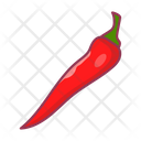 Red Pepper Spice Icon