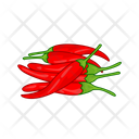 Red Pepper Spicy Vege Icon