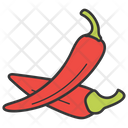 Red Chili Chili Pepper Spice Icon