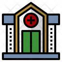 Red Cross Blood Bank Hospital Icon