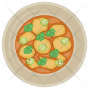 Red Curry Squash Icon