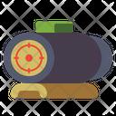 Red Dot Sight Gun Cope Scope Icon
