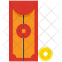 Red Envelope Money Chinese New Year Icon