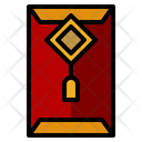 Red Envelope Tradition Cultures Icon