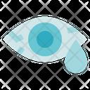 Allergy Medical Red Eye Icon