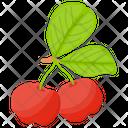Red Gooseberry Berry Fruit Gooseberry Fruit Icon