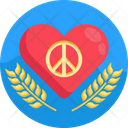 Red Heart Romance Heart Icon