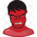 Red Hulk Incredible Hulk Superhero Icon