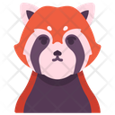 Red Panda Animal Cute Icon