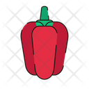 Red Pepper Pepper Fresh Icon