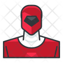 Red power ranger Icon
