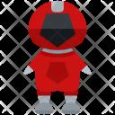 Red Ranger Man Icon