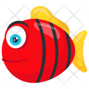 Red Tiger Barb Pet Fish Icon