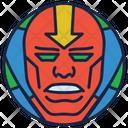 Red Tornado Fire Boy Warrior Icon