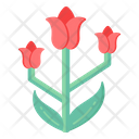 Red Tulips Icon