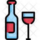 Wine Party Birthday Icon