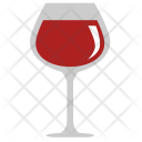 Red Wine Bocal Icon