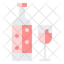 Wine Champagne Alcoholic Drink Icon