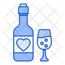 Red Wine Wine Bottle Icon