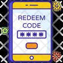 Redeem Code Coupan Redeem Password Icon