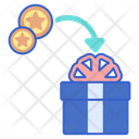 Redeem Point Shopping Point Gift Point Icon