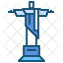Artdeco Brazil Christ Icon