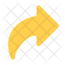 Redo Curved Arrow Right Arrow Icon