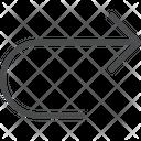 Redo Forward Direction Arrow Icon